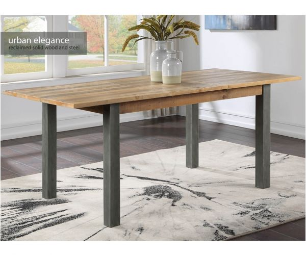 Baumhaus Urban Elegance Reclaimed Extending Dining Table Only