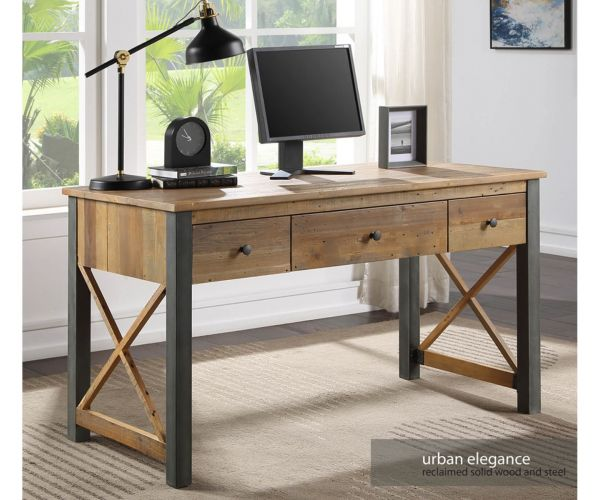 Baumhaus Urban Elegance Reclaimed Home Office Desk