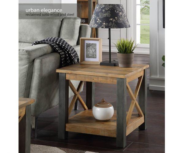 Baumhaus Urban Elegance Reclaimed Lamp Table