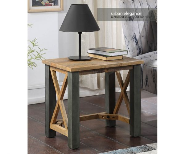 Baumhaus Urban Elegance Reclaimed Open Front Side Table