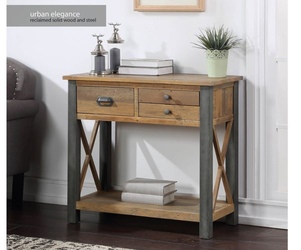 Baumhaus Urban Elegance Reclaimed Small Console Table