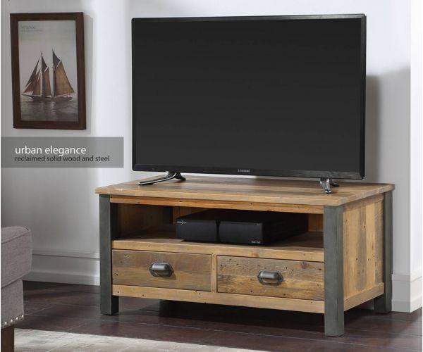 Baumhaus Urban Elegance Reclaimed Widescreen TV Cabinet