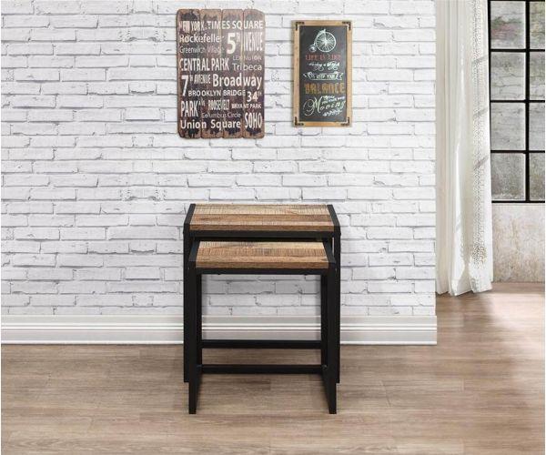 Birlea Furniture Urban Rustic Nest of Tables
