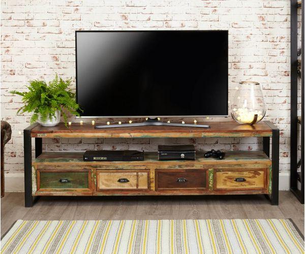 Baumhaus Urban Chic Widescreen Television Cabinet