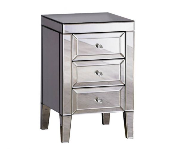 Birlea Furniture Valencia 3 Drawer Bedside Cabinet