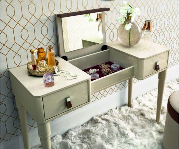 Camel Group Altea Ivory Finish Vanity Dresser