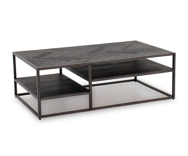 Vida Living Vanya Dark Brown Coffee Table