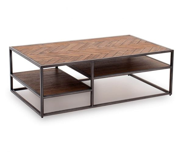 Vida Living Vanya Light Brown Coffee Table
