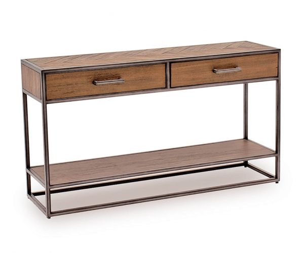 Vida Living Vanya Light Brown Console Table