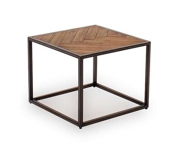 Vida Living Vanya Light Brown Lamp Table