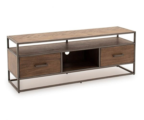 Vida Living Vanya Light Brown TV Cabinet