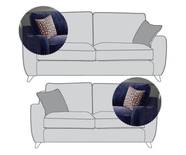 Buoyant Upholstery Varley 3+2 Sofa Suite