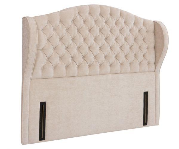 Swanglen Venice Floor Standing Fabric Headboard