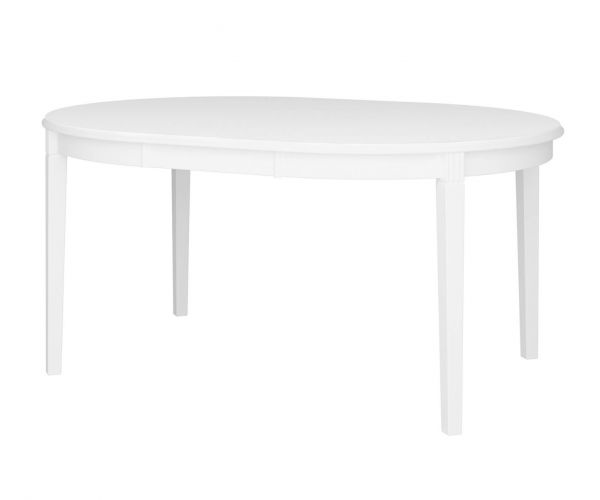 Steens Venice White Large Dining Table Only