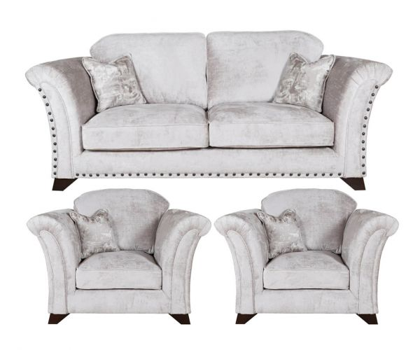 Buoyant Upholstery Vesper 3+1+1 Standard Back Sofa Suite