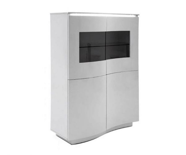 Vida Living Lazzaro Grey Display Unit