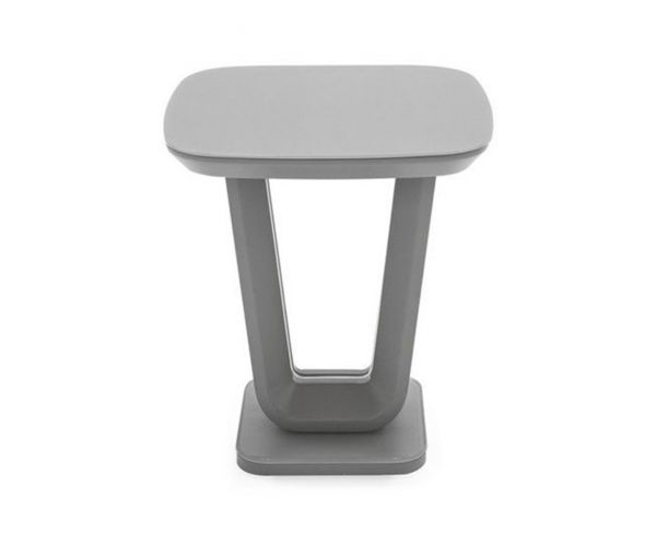 Vida Living Lazzaro Grey Lamp Table