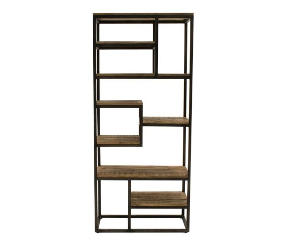 Vida Living Savannah Tall Slim Bookcase