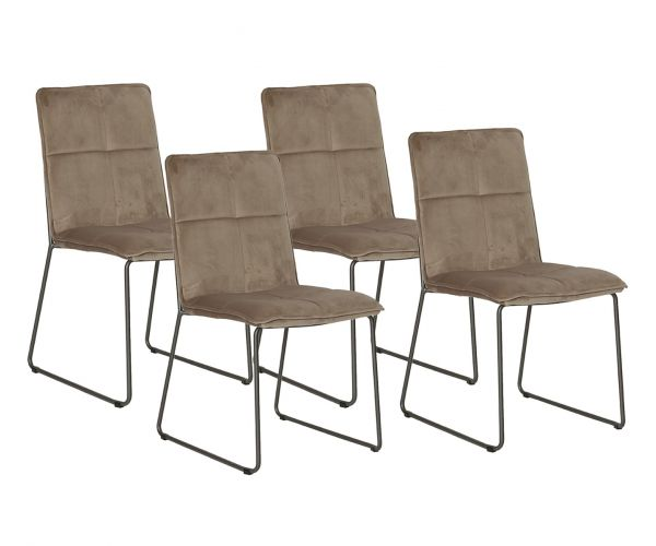 Vida Living Soren Mink Dining Chair (Set of 4)