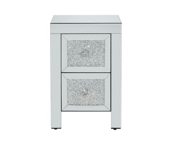 Birlea Furniture Vienna 2 Drawer Bedside Cabinet