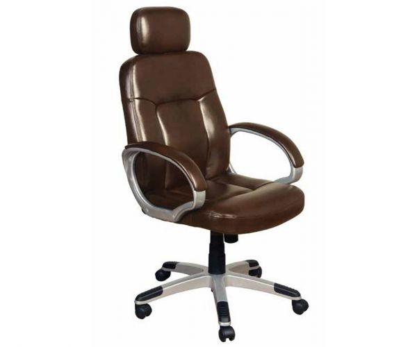 Annaghmore Viking Two Tone Brown Office Chair