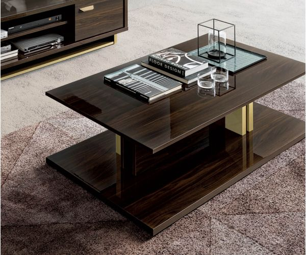 Camel Group Volare Walnut Coffee Table