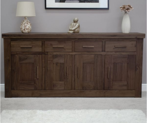Homestyle GB Walnut 4 Door Sideboard