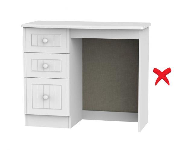Welcome Furniture Warwick 3 Drawer Vanity Unit