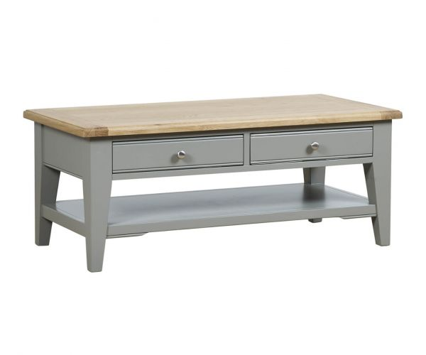 Mark Webster Waterford Coffee Table with 2 Drawers