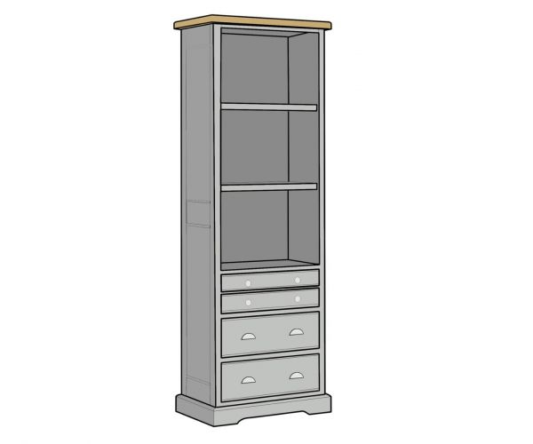 Mark Webster Waterford Tall Bookcase