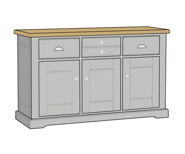 Mark Webster Waterford Large Sideboard