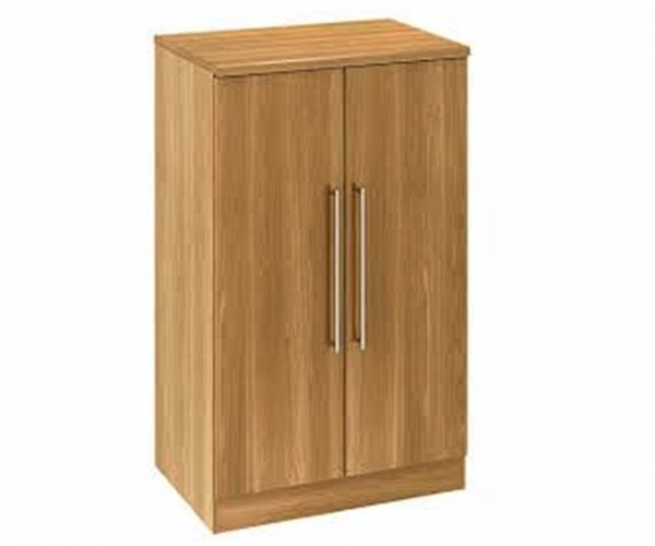 Welcome Furniture Sherwood Wooden 2ft6in Midi Robe