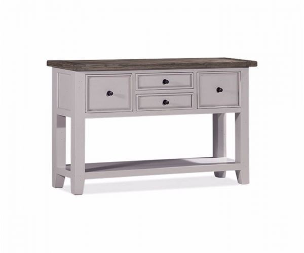 Furniture Link Wellington White Console Table