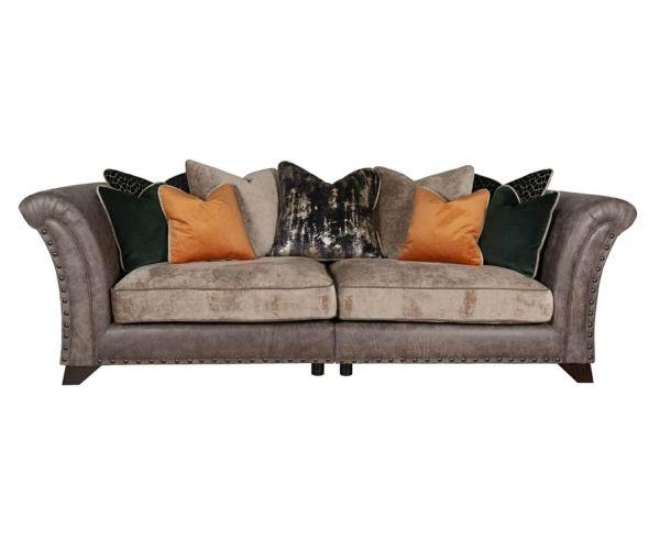 Buoyant Upholstery Weston 4 Seater Pillow Back Modular Sofa
