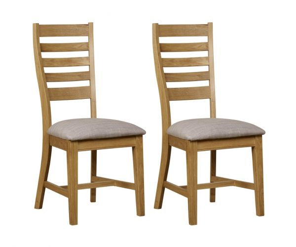 Mark Webster Westport Ladder Back Dining Chair in Pair