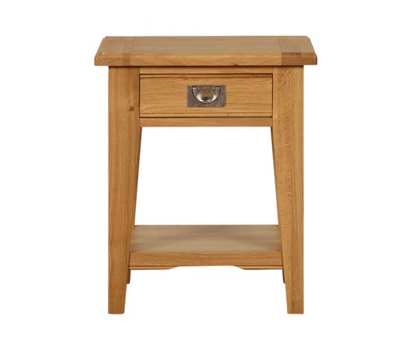 Mark Webster Westport Lamp Table with One Drawer