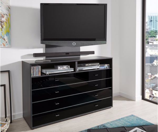 Wiemann Westside Matching Bedroom Pieces with Black Handles