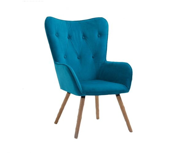Birlea Furniture Willow Sapphire Armchair