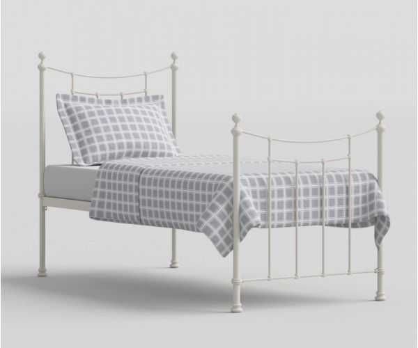 Original Bedstead Company Winchester Glossy Ivory Metal Headboard Only