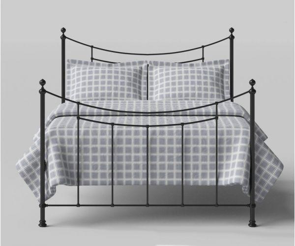 Original Bedstead Company Winchester Satin Black Metal Bed Frame