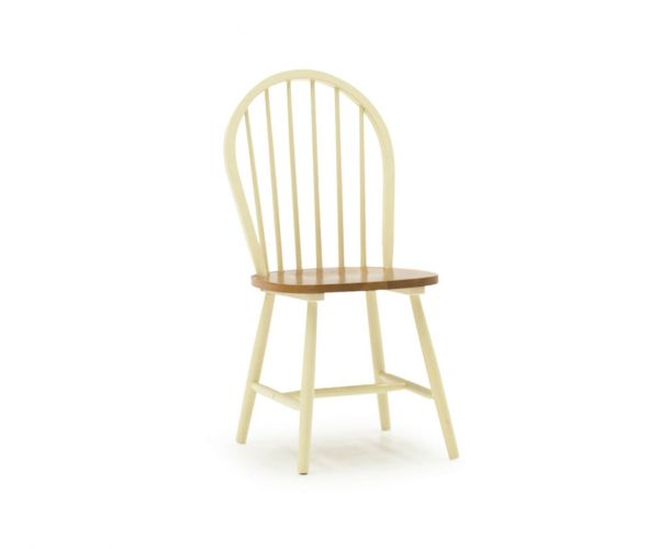 Vida Living Windsor Buttermilk Dining Chair - Pair