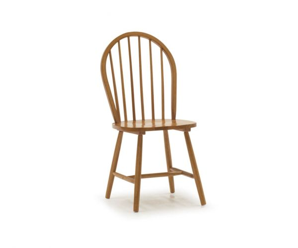 Vida Living Windsor Honey Dining Chair - Pair