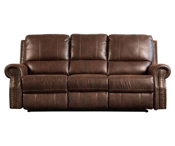 Sweet Dreams Wye Chestnut Fabric Power Recliner 3 Seater Sofa