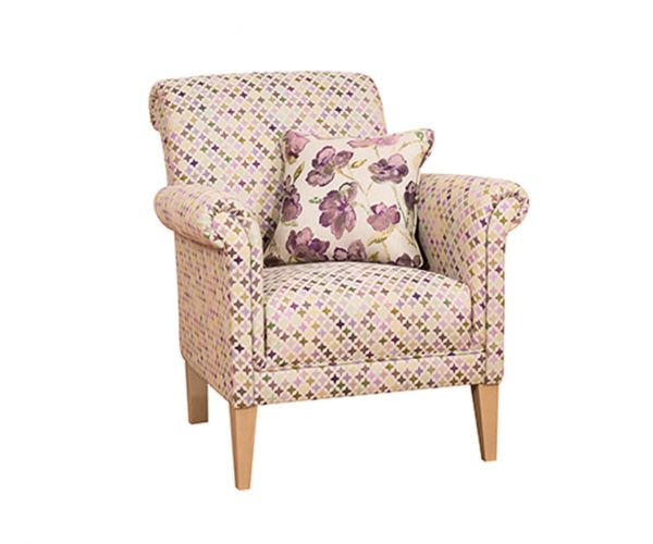 Buoyant Upholstery York Fabric Accent Chair