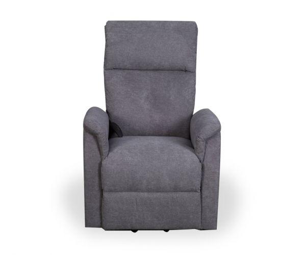 Shankar Yorke Grey Fleck Effect Recliner Chair