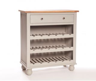 Furniture Link Avoca Low Wine Rack