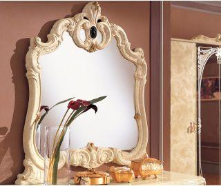 Camel Group Barocco Ivory Finish Dresser Mirror