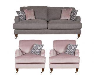 Buoyant Upholstery Beatrix 3+1+1 Standard Back Sofa Suite