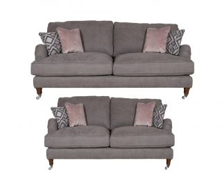 Buoyant Upholstery Beatrix 3+2 Standard Back Sofa Suite