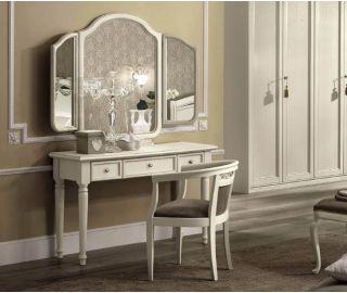Camel Group Nostalgia Antique White Vanity Dresser